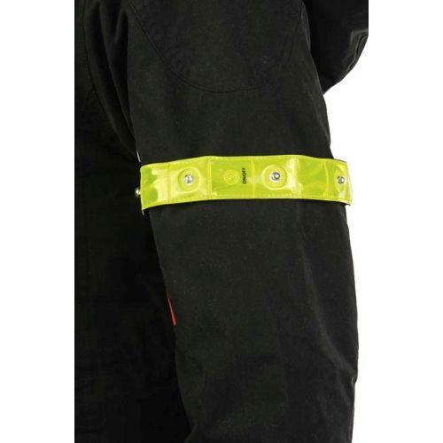 led reflektorband mit klett ist strapazierf hig hat rote. Black Bedroom Furniture Sets. Home Design Ideas