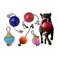 Jolly Ball Romp-Roll 10cm Red